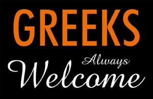 Greeks Always Welcome
