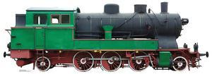 Green and Red Steam Locomotive Standup