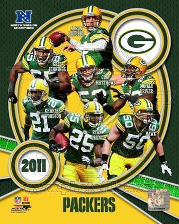 Green Bay Packers 2011 NFC North Division Champions Composite