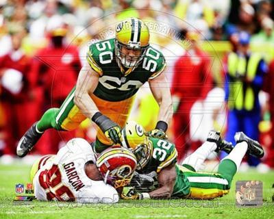 Green Bay Packers - A.J. Hawk Photo