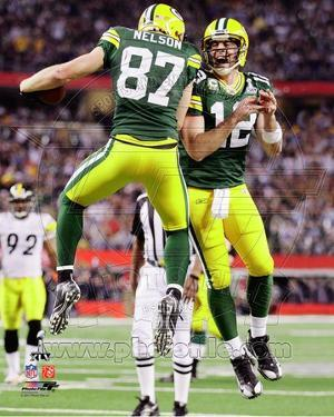 Green Bay Packers - Aaron Rodgers, Jordy Nelson Photo