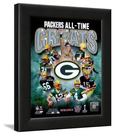 Green Bay Packers All Time Greats Composite