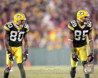Green Bay Packers - Donald Driver, Greg Jennings Photo