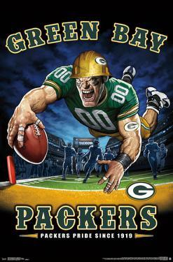 GREEN BAY PACKERS - END ZONE 17