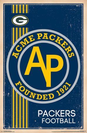 Green Bay Packers - Retro Logo 14