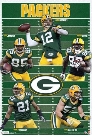 Green Bay Packers Team Sports Poster