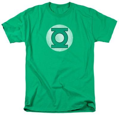Green Lantern - Distressed Logo