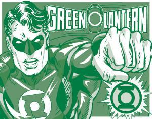 Green Lantern - Duotone