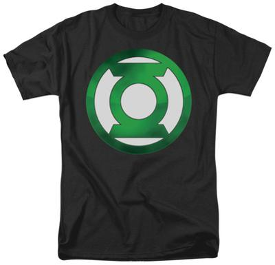 Green Lantern - Green Chrome Logo