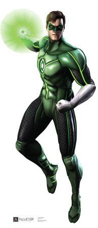 Green Lantern - Injustice DC Comics Game Lifesize Standup