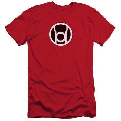 Green Lantern - Red Lantern Logo (slim fit)