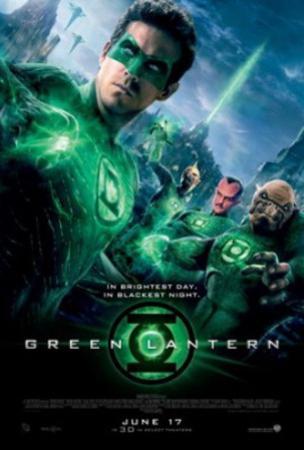 Green Lantern (Ryan Reynolds, Blake Lively, Peter Sarsgaard) Movie Poster