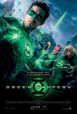 Green Lantern (Ryan Reynolds, Blake Lively, Peter Sarsgaard) Movie Poster