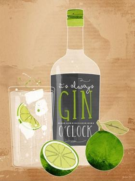 Gin O'Clock by Green Lili