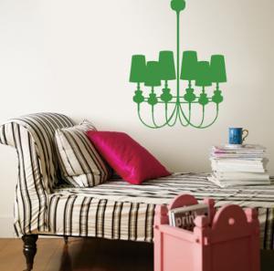 Green Modern Chandelier