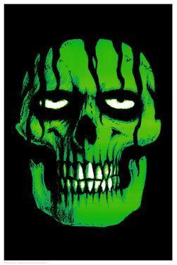 Green Zombie (Non-Flocked Blacklight)