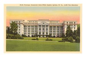 Greenbrier Hotel, White Sulphur Springs, West Virginia