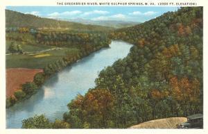 Greenbrier River, White Sulphur Springs, West Virginia
