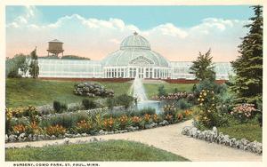 Greenhouse, Como Park, St. Paul, Minnesota