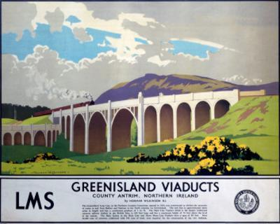 Greenisland Viaducts, LMS, c.1923-1947