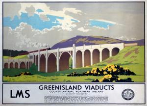 Greenisland Viaducts, LMS, c.1923-1947