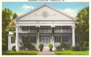 Greenwood Plantation, Thomasville, Georgia