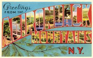 Greetings from Adirondack Mountains, New York