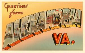 Greetings from Alexandria, Virginia