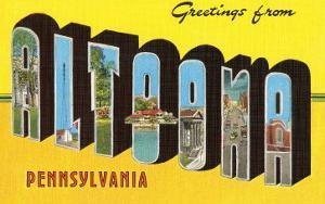 Greetings from Altoona, Pennsylvania