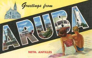 Greetings from Aruba, Netherland Antilles