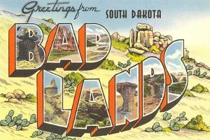Greetings from Badlands, South Dakota