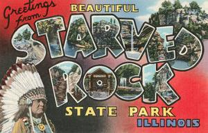 Greetings from Beautiful Starved Rock State Park, Illinois