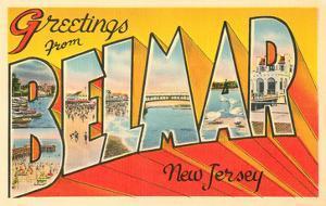 Greetings from Belmar, New Jersey