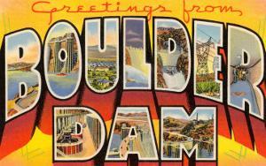 Greetings from Boulder Dam, Nevada