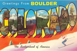 Greetings from Boulder