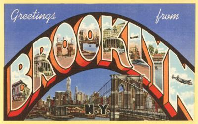 Greetings from Brooklyn, New York
