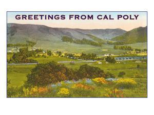 Greetings from Cal Poly, San Luis Obispo