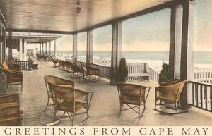 Greetings from Cape May, New Jersey, Veranda