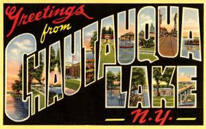 Greetings from Chautauqua Lake, New York