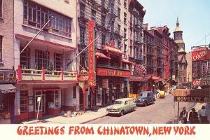 Greetings from Chinatown, New York
