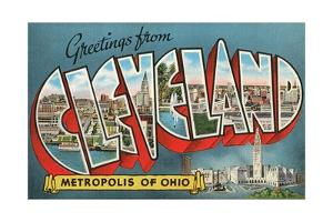 Greetings from Cleveland, Metropolis of Ohio