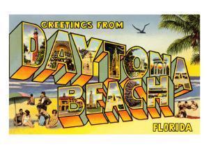 Greetings from Daytona Beach, Florida