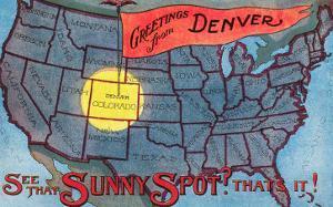 Greetings from Denver