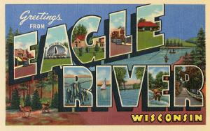 Greetings from Eagle River, Wisconsin