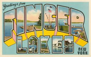 Greetings from Finger Lakes, New York