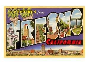 Greetings from Fresno, California