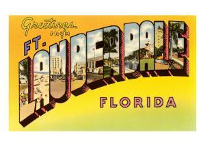 Greetings from Ft. Lauderdale, Florida