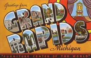 Greetings from michigan posters for sale at allposters greetings from grand rapids michigan furniture center of the world m4hsunfo