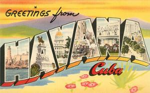 Greetings from Havana, Cuba