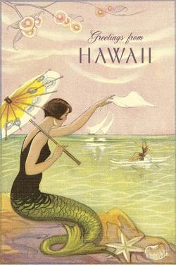 Greetings from Hawaii, Mermaid